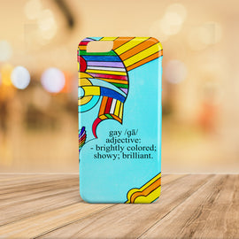 Gay Defined - Modern Art Geometric iPhone Cases for 5 / 5S / SE - 6 / 6S - 6 / 6S Plus - 7 & 7 Plus