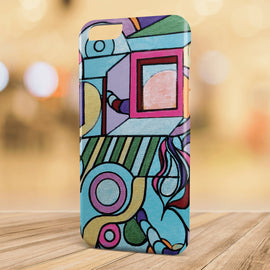 We Fell - Modern Art Geometric iPhone Cases for 5 / 5S / SE - 6 / 6S - 6 / 6S Plus - 7 & 7 Plus
