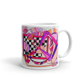Noo Colors - Bold Modern Art Coffee Mug