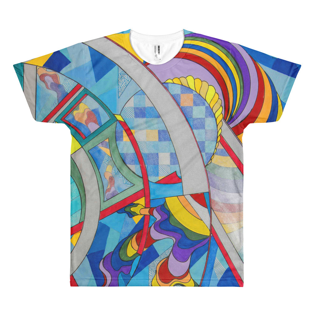 Full Time Rainbow Short sleeve men's t-shirt