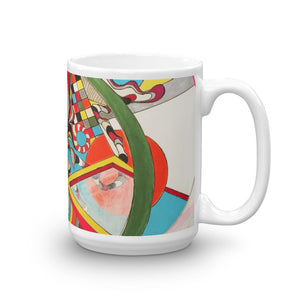 Fat Tuesday - Modern Art Mug