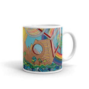 Father's Day - Geometric Landscape Mug