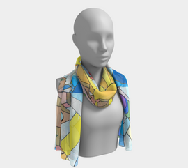 Everything All At Once - Long Scarf