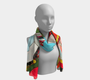 Fat Tuesday - Long Scarf