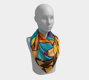 Cowboy on a Diet - Square Scarf