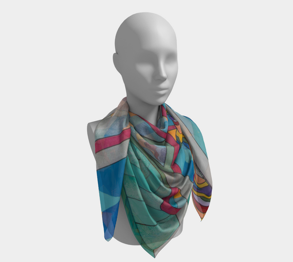 Full Time Rainbow - Square Scarf