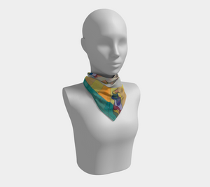 Full Time Sunshine - Square Scarf