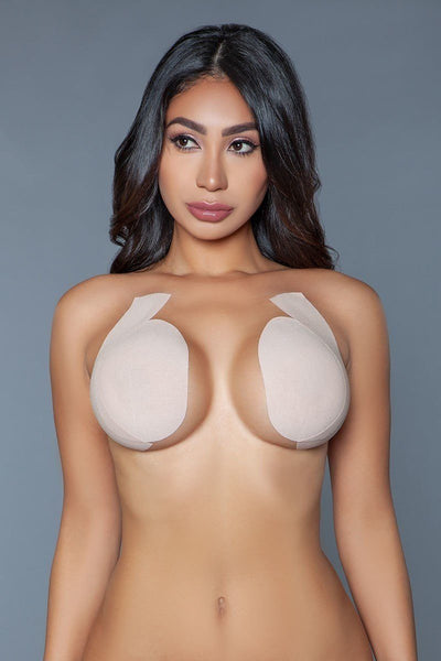 Waterproof Sweatproof Anti-shedding Adhesives Bras - LordVincent's