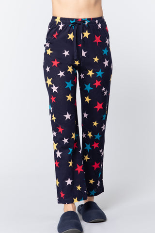 Star Print Cotton Pajama - LordVincent's
