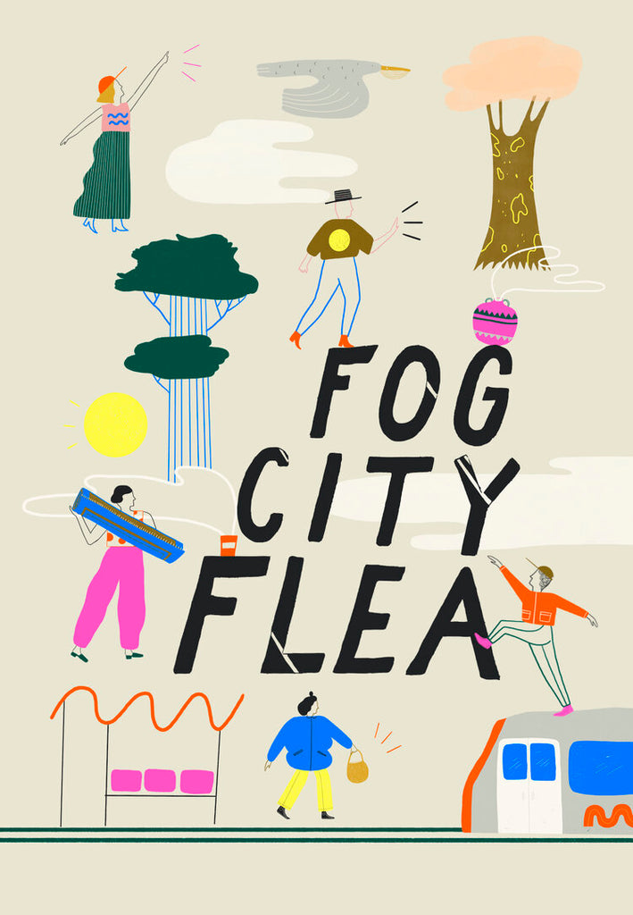 Fog City Flea @ Fourth Street Maker's Row