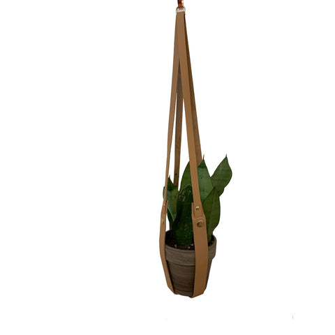 Adeline Hanging Planter - Natural
