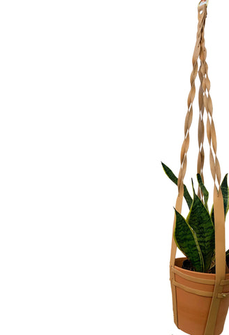 Braided Hanging Planter