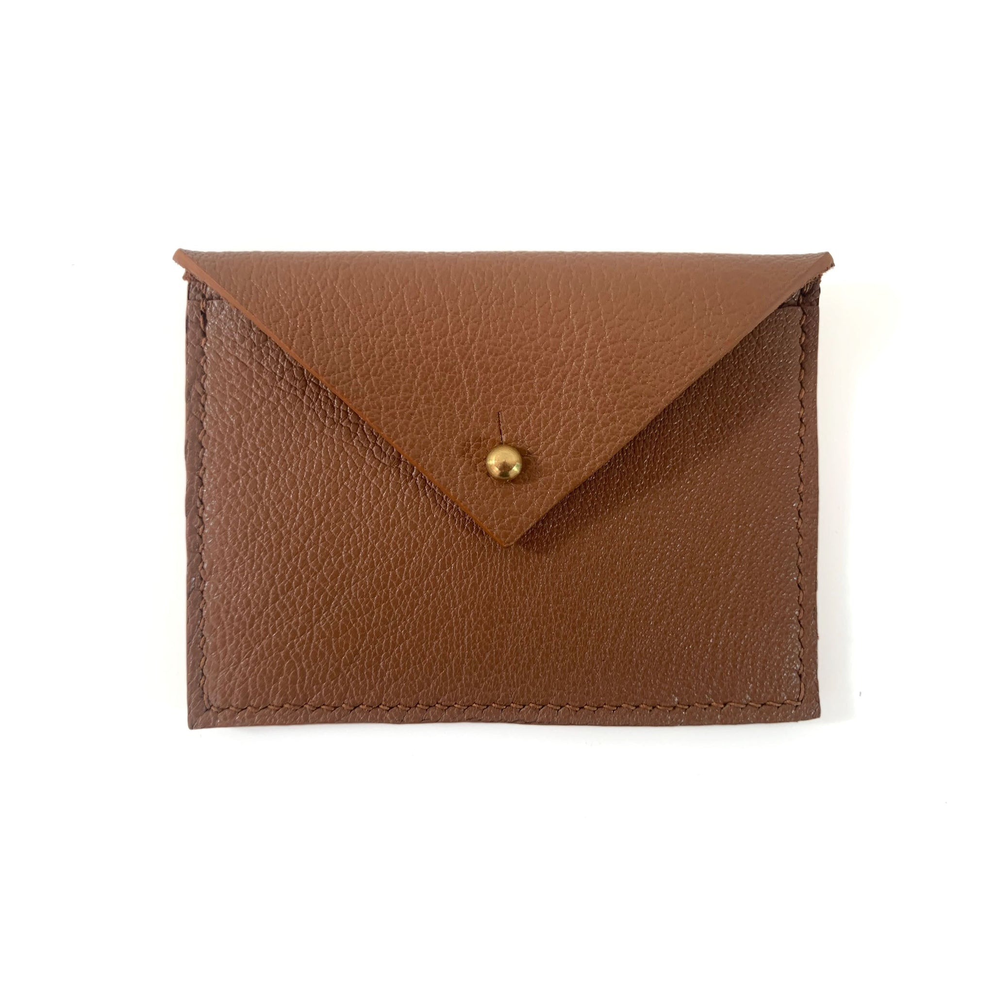 Elsie Card Case - Caramel