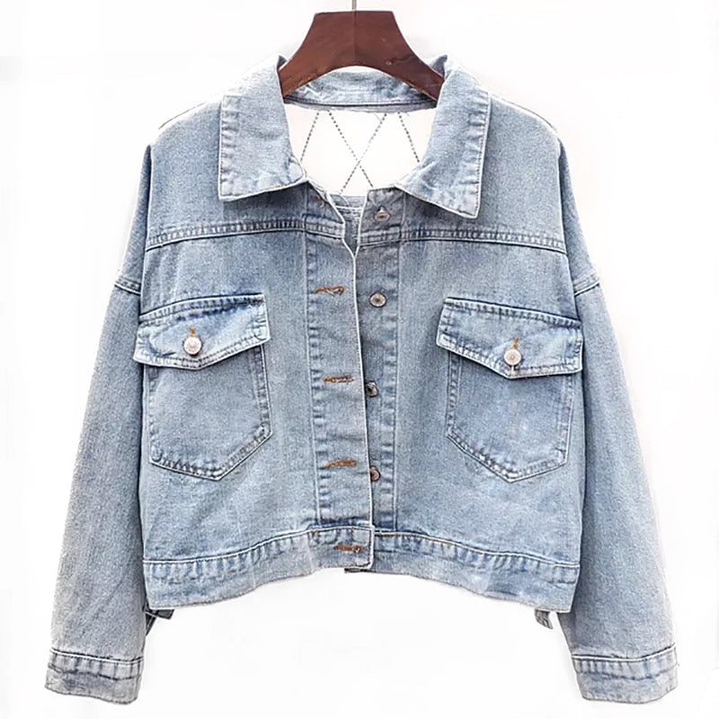 CRISS CROSS JACKET - SHOPVIIXEN