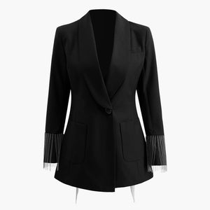 SPARKLED BACK BLAZER - SHOPVIIXEN