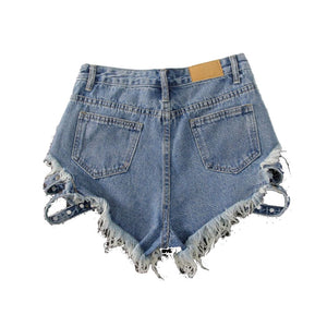 SO RIVET SHORTS - SHOPVIIXEN