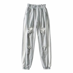 RIPPED UP SWEATS - SHOPVIIXEN