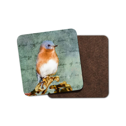 Bluebird Drink Coaster