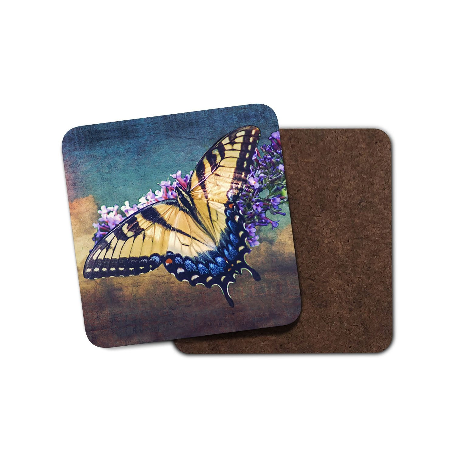 Butterfly Sky Home Coaster