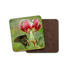 Butterfly Tiger Lily Home Coaster