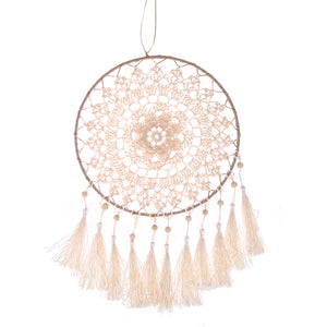 Handmade Dream Catcher Wall Hanging Decoration, Knitted