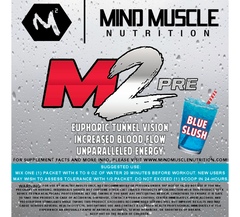 M2 Pre-Workout SAMPLES