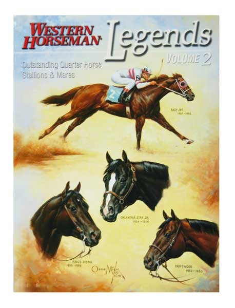 LEGENDS 2 WESTERN HORSEMAN