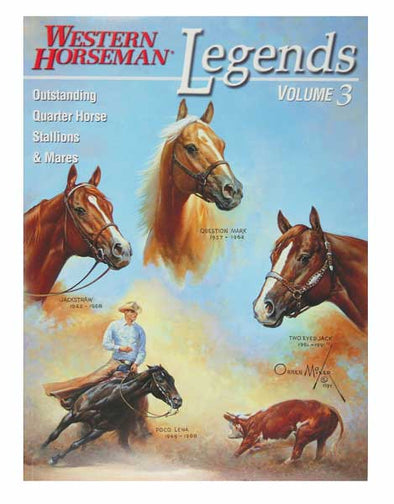LEGENDS 3 WESTERN HORSEMAN