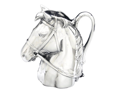 Throughbred horse Pitcher silver