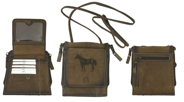 AQHA Baroness Euro Conceal Carry Crossbody Classic