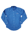 AQHA French Blue Button Down