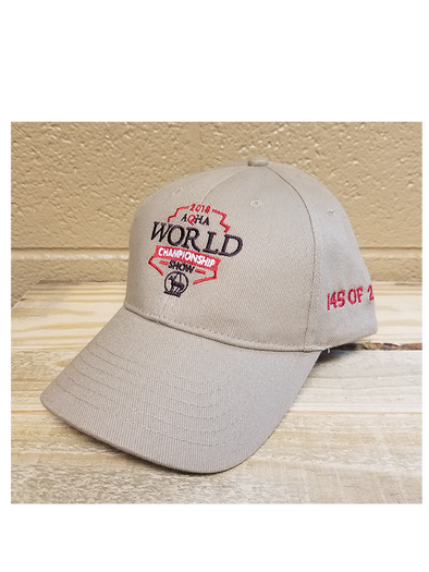 2018 World Show Numbered Cap