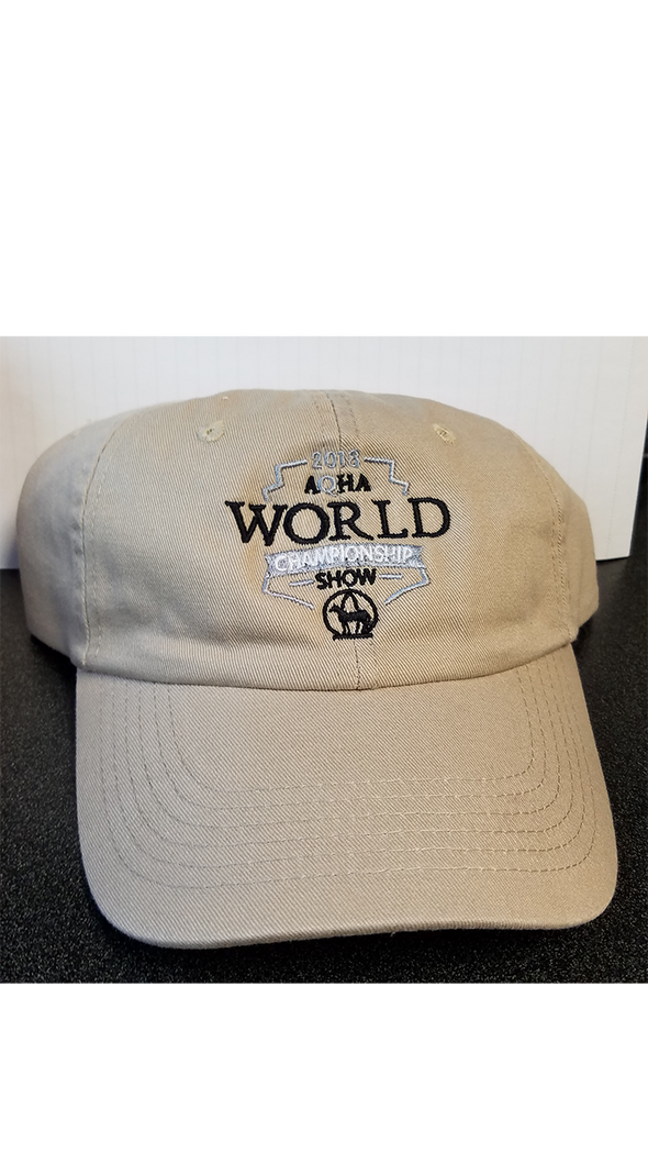2018 WS Unstructured Khaki cap