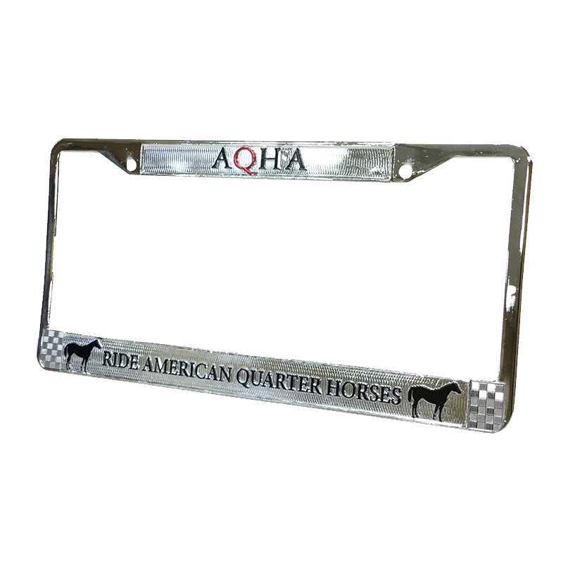 AQHA License Plate Frame – AQH Store