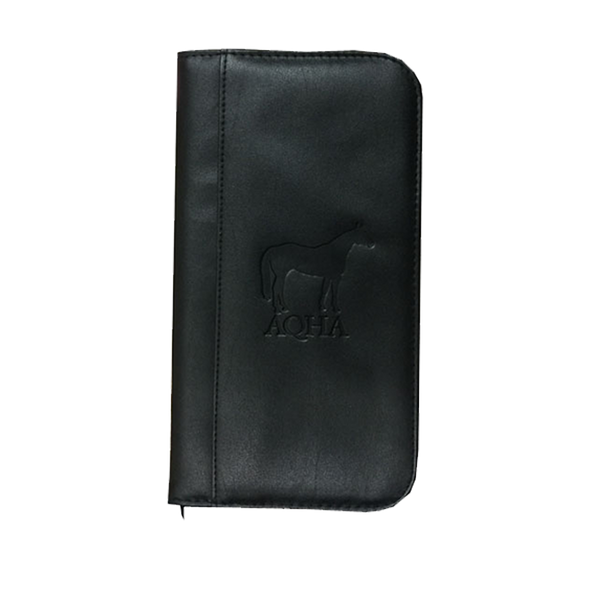 AQHA Travel Zippered Wallet