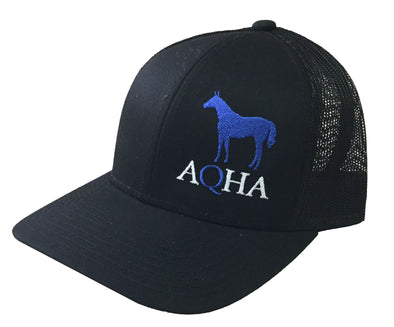Black Mesh Cap Royal Horse