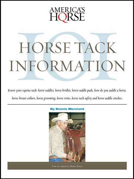 HORSE TACK INFORMATION 101 Digital Book