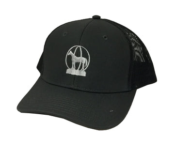 aqha Grey Mesh Trophy Cap