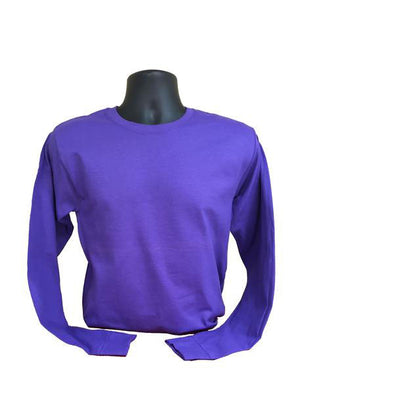 purple ls tee