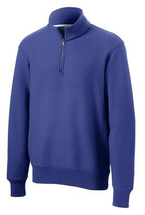 Blank Royal blue 1/4 zip