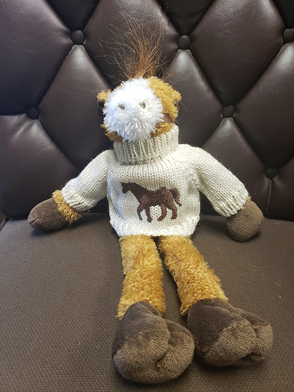 "16""  Horse with Sweater"