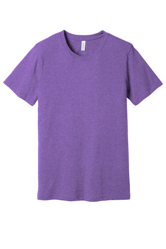 Blank heather purple ss