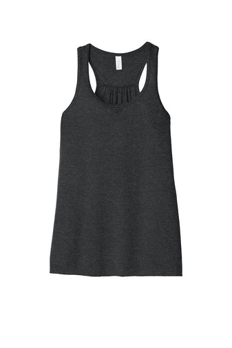 Dark Grey Heather Flowy Tank