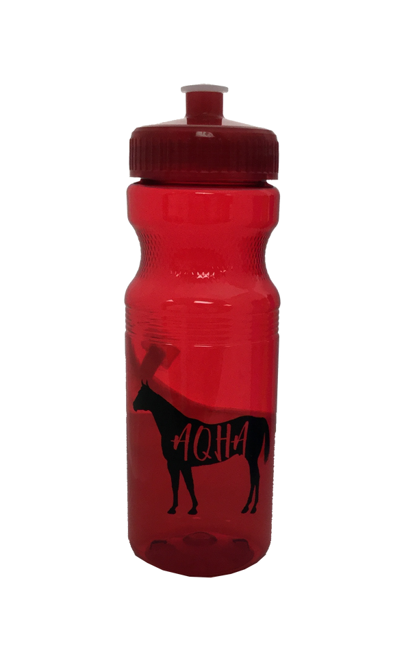 AQHA Translucent Water Bottle 24 oz.