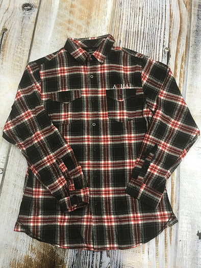 AQHA Red/Black Flannel