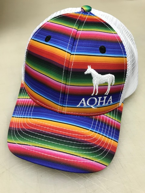 AQHA Serape and White Cap