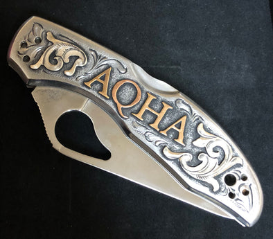 AQHA Stainless Steel Knife