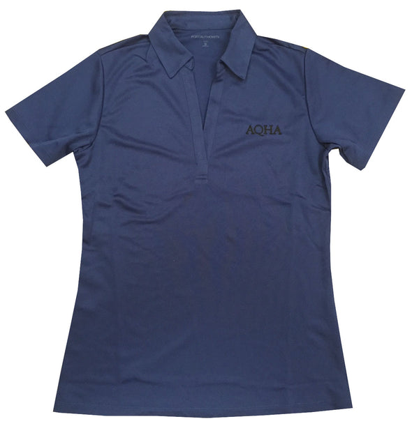 Royal Blue Ladies AQHA Polo