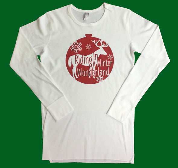 Red Ornament White Thermal