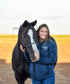 AQHA Heather Midnight Navy Hoodie